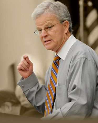 He's gaining momentum: There is a slim chance that Republican hopeful Buddy Roemer could make it into the ABC News candidate debate on Saturday. (Photograph provided by Buddy Roemer)