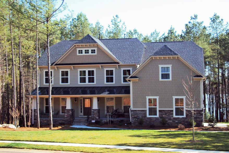 Ryan Homes is building 106 single-family homes on quarter-acre to half-acre sites at Lake Linganore at Eaglehead in Frederick. The Avalon model, with 2,935 square feet, is priced from $419,990 to $455,990.