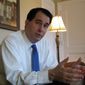 **FILE** Wisconsin Gov. Scott Walker (Associated Press)
