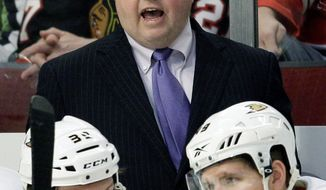 Bruce Boudreau is 4-9-2 in his first 15 games with Anaheim since taking over as coach Nov. 30. (Associated Press)