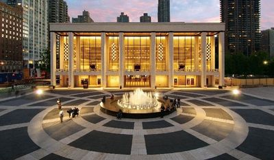The David H. Koch Theater in New York's Lincoln Center is home to the City Opera and New York City Ballet. City Opera.