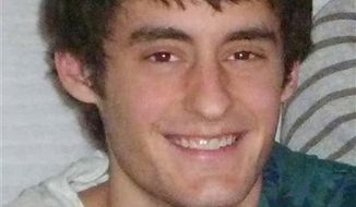 This photo provided Jan. 9, 2012, by the Oshkosh, Wis., Police shows Michael T. Philbin, son of Green Bay Packers offensive coordinator Joe Philbin, who says his son is missing. Police in Oshkosh say 21-year-old Michael, of Ripon, was last heard from around 2 a.m. Sunday. (AP Photo/courtesy of the Oshkosh Police Department)