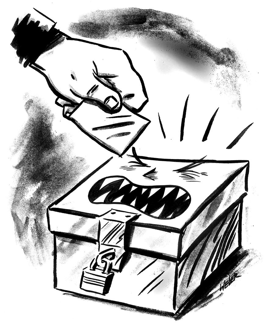 Illustration by Mark Weber for The Washington Times