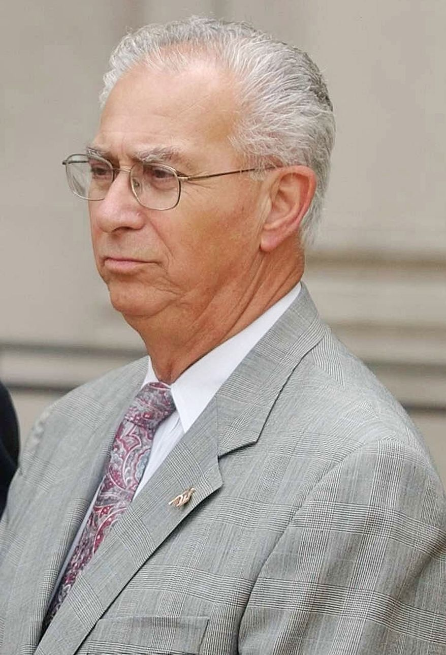 ** FILE ** Assemblyman Alex DeCroce, who died Monday night, was Republican leader in the New Jersey Assembly. (AP Photo/Brian Branch-Price, File)