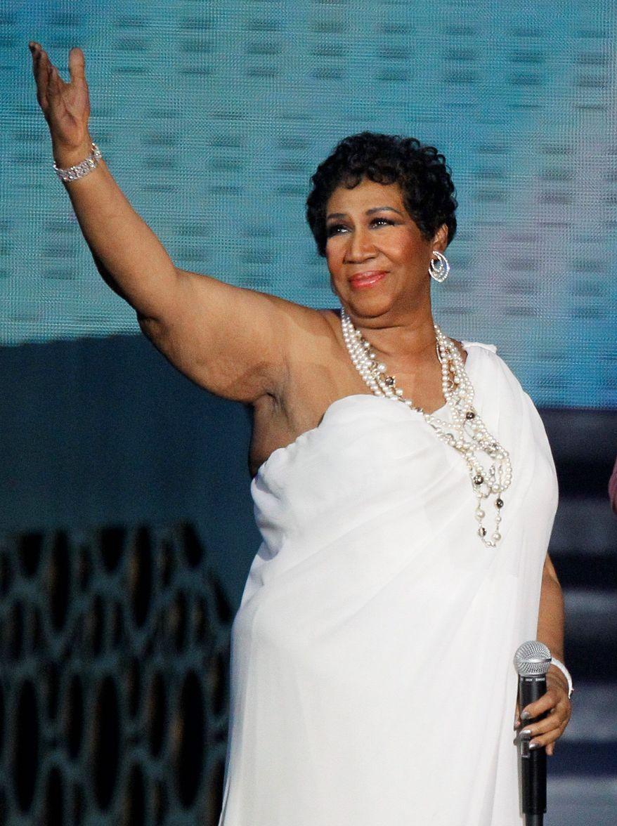 Aretha Franklin (Associated Press)
