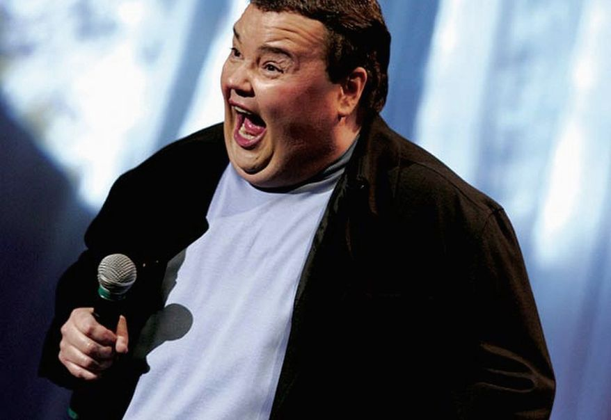 John Pinette at the DC Improv.