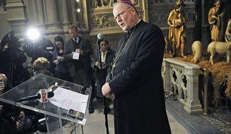 ** FILE ** Archbishop Timothy Dolan (Associated Press)