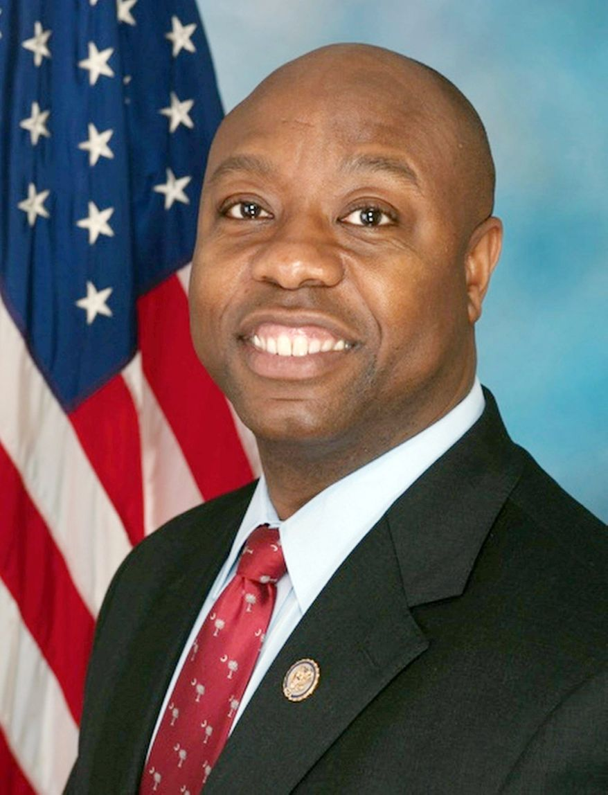 Rep. Tim Scott of South Carolina will join Fox News' Mike Huckabee in Charleston on Saturday for a Republican presidential candidate forum. (Photo courtesy Tim Scott)
