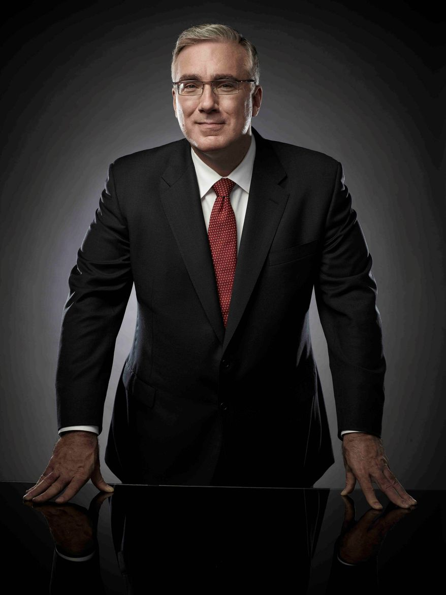 Keith Olbermann didn't participate in Current TV's Iowa and New Hampshire political coverage, reportedly because he was upset over production problems at the network. (Current TV via Associated Press)