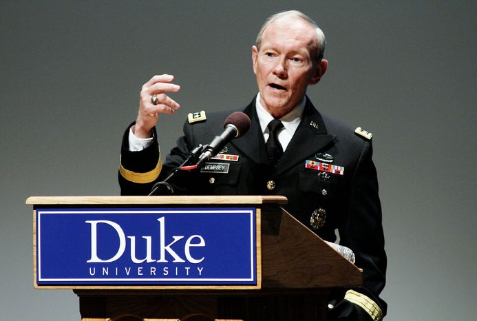 Chairman of the Joint Chiefs of Staff Gen. Martin Dempsey plans to visit Israel for negotiations. The Israeli Defense Ministry confirmed the planned visit by Gen. Dempsey, but it did not give his agenda. Iran is expected to be a priority. (Associated Press)