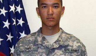 U.S. Army Pvt. Danny Chen (Associated Press/U.S. Army)