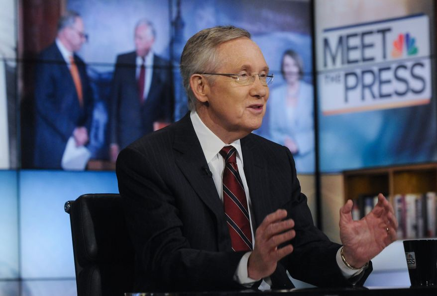 """""""We've spent months on things that used to happen just matter-of-factly. I would hope that they understand that everything doesn't have to be a fight,"""" Senate Majority Leader Harry Reid, Nevada Democrat, said."""
