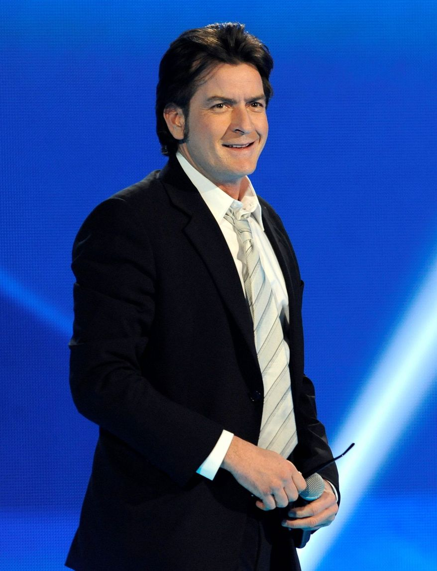 Charlie Sheen (Associated Press)