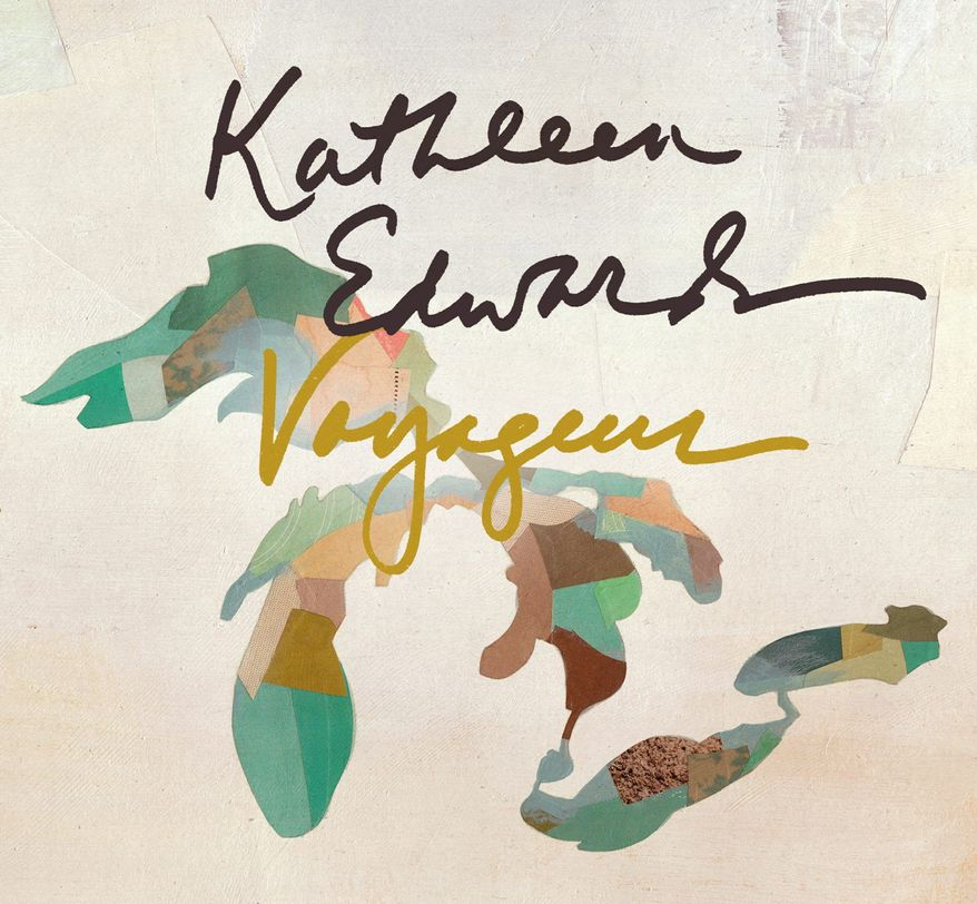 "Album cover for Kathleen Edwards ""Voyageur"