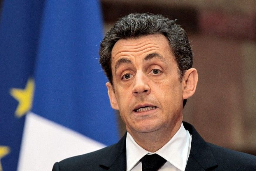 French President Nicolas Sarkozy (Associated Press)