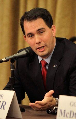 Wisconsin Gov. Scott Walker  (Associated Press)