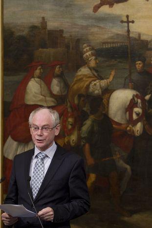 Herman Van Rompuy, president of the European Council (Associated Press)