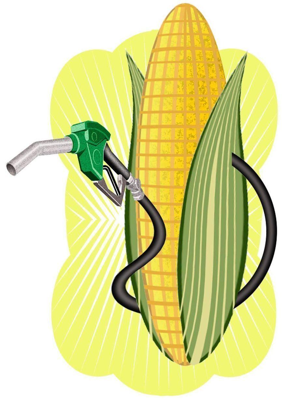 Illustration: Ethanol by Alexander Hunter for The Washington Times