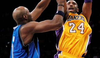 Los Angeles Lakers star Kobe Bryant is averaging a league-leading 30.8 points. (Associated Press)