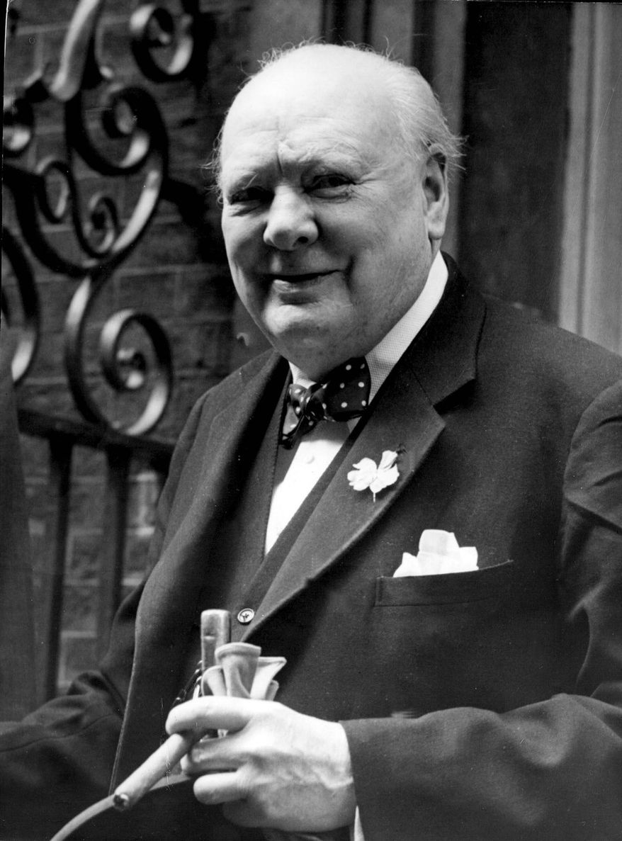 Associated Press The National Churchill Library and Center at George Washington University will be devoted to British Prime Minister Winston Churchill, who was admired for his leadership during World War II.