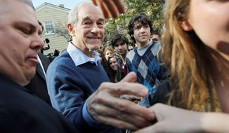 Rep. Ron Paul of Texas has a campaign built around supporters who largely reject traditional politics. (Associated Press)