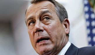 House Speaker John A. Boehner, Ohio Republican