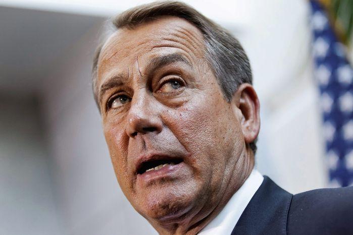 House Speaker John A. Boehner, Ohio Republican