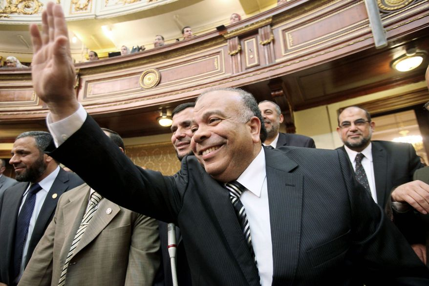 Saad el-Katatni, a lawmaker from the Muslim Brotherhood, is the first speaker of the newly elected People's Assembly.