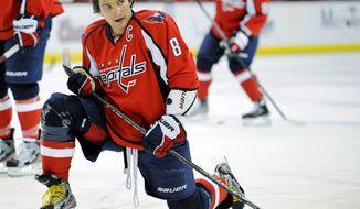 **FILE** Washington Capitals captain Alex Ovechkin (Associated Press)