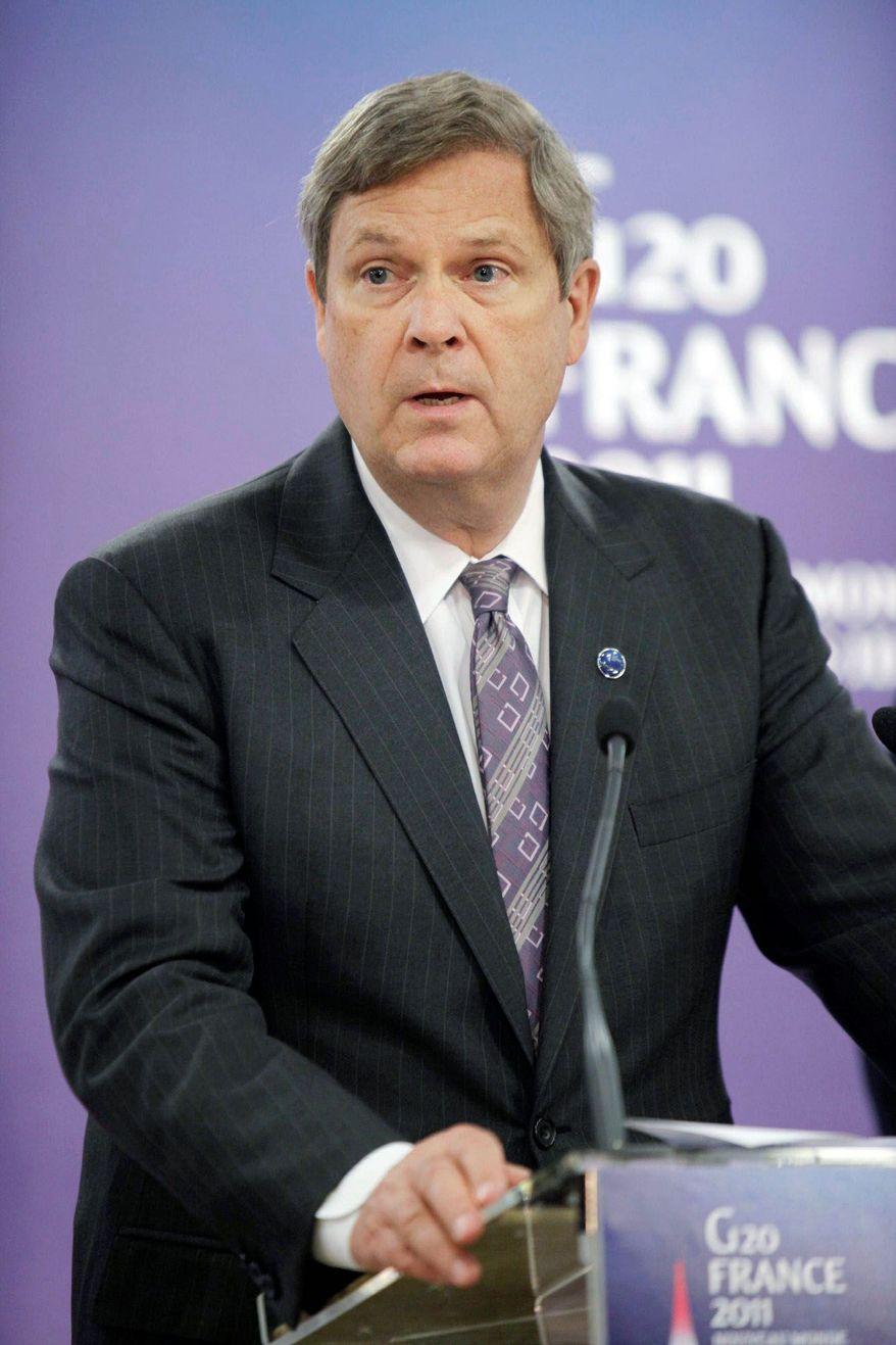 Agriculture Secretary Thomas J. Vilsack (AP photo)