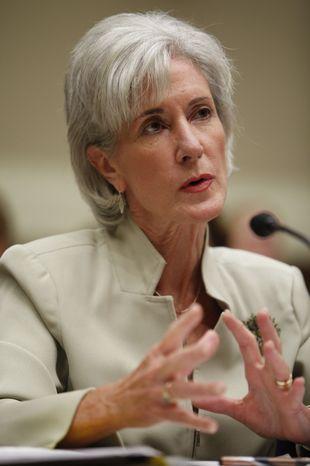 **FILE** Health and Human Services Secretary Kathleen Sebelius (Associated Press)