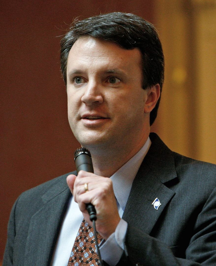 Delegate Benjamin L. Cline, Augusta Republican, is leading a bipartisan push in the General Assembly to simplify the state tax code and make it more fair. (Richmond Times-Dispatch via Associated Press)