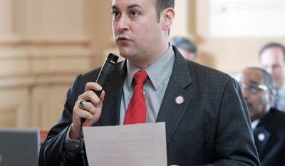Delegate David Englin, Alexandria Democrat, is leading a bipartisan push in the General Assembly to simplify the state tax code and make it more fair. (Richmond Times-Dispatch via Associated Press)