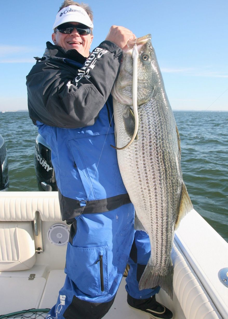 George Poveromo's Salt Water Sportsman National Seminar Series will be at the Doubletree Hotel in Annapolis on Feb. 4. Go to www.nationalseminarseries.com for complete details. (Courtesy of Dr. Ken Neill)