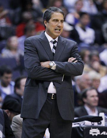 **FILE** Washington Wizards coach Randy Wittman (Associated Press)