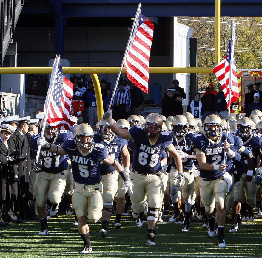 Navy will join the Big East in 2015 as a football-only member.  (AP Photo/Ann Heisenfelt, File)