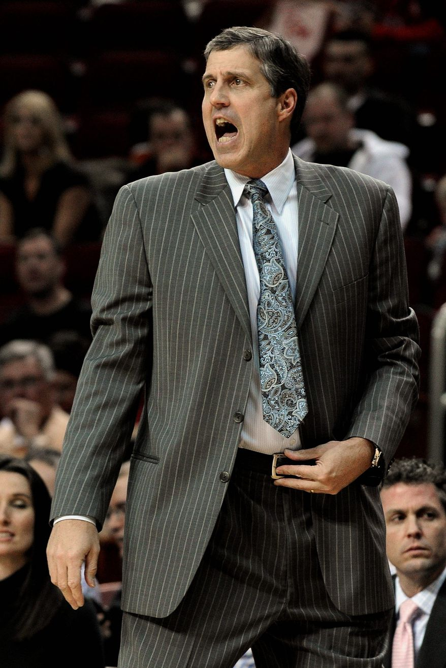 Randy Wittman, Wizards coach (Associated Press)