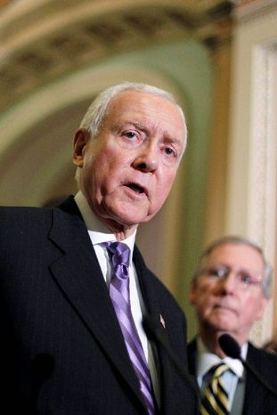 Sen. Orrin Hatch, Utah Republican (Associated Press)
