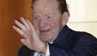 ** FILE ** Sheldon Adelson. (AP Photo, File)