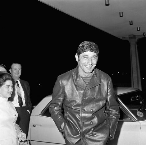 Joe Namath was glitter and glamour with a movie-star mystique. By leading the New York Jets to a monumental upset of Baltimore in Super Bowl III, he helped transform football into America's favorite spectator sport. (Associated Press)
