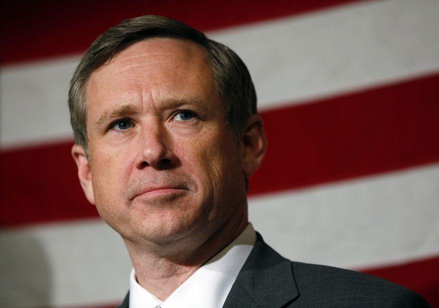 **FILE** Sen. Mark Kirk, Illinois Republican (Associated Press)