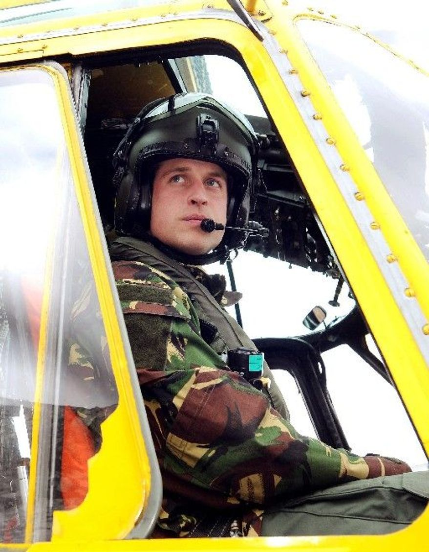 """Britain's Prince William, a Royal Air Force helicopter pilot, has deployed to the Falklands as tension between Argentina and the United Kingdom builds. A government dispatch called him a """"conquistador."""""""