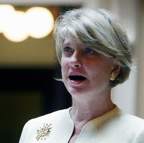 Virginia state Sen. Janet D. Howell, Fairfax Democrat, took a novel approach Wednesday in an unsuccessful attempt to derail abortion-related legislation. (Associated Press)