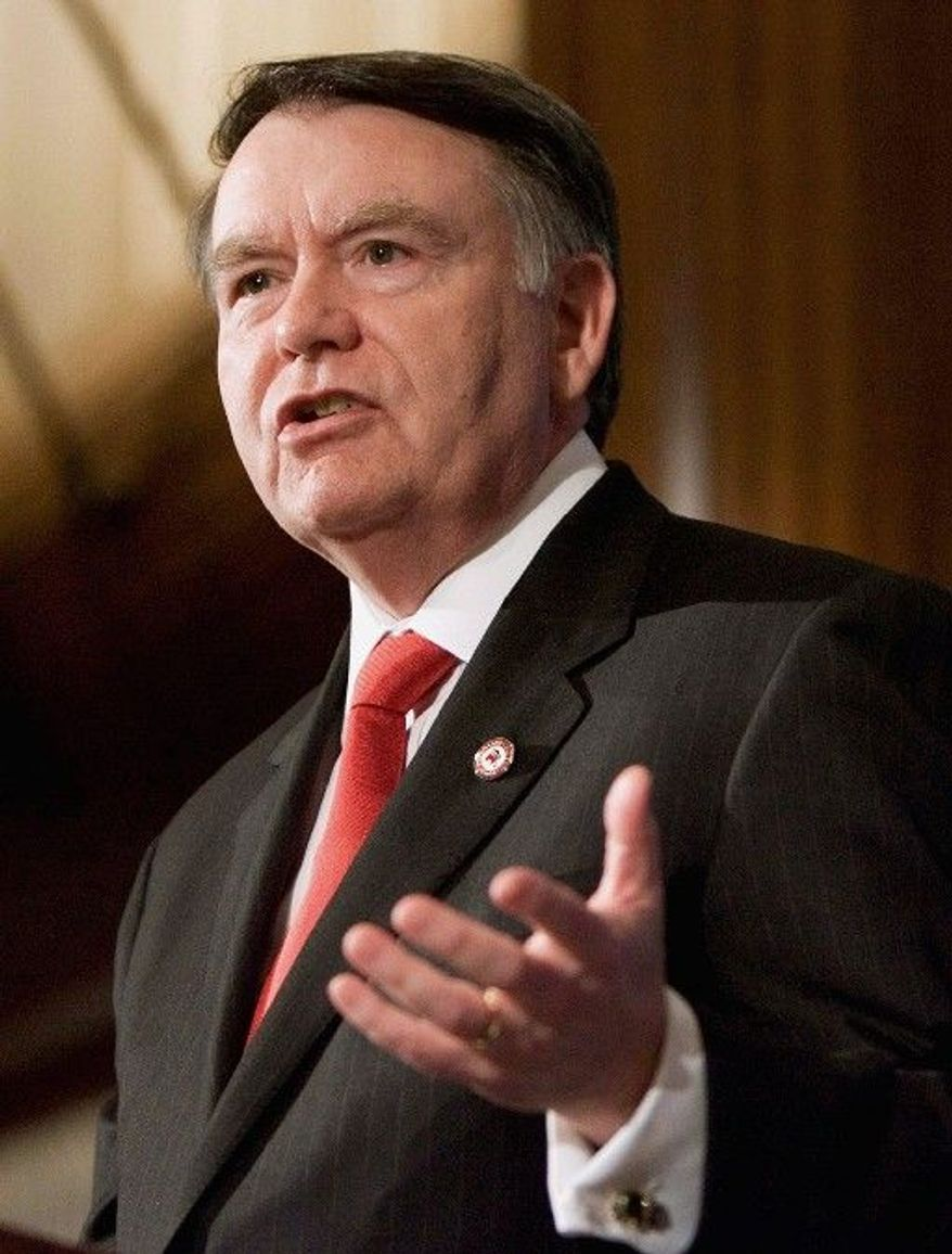 Former Republican National Committee Chairman Mike Duncan is now chairman of American Crossroads, which raised $51 million to aid GOP candidates. (Associated Press)