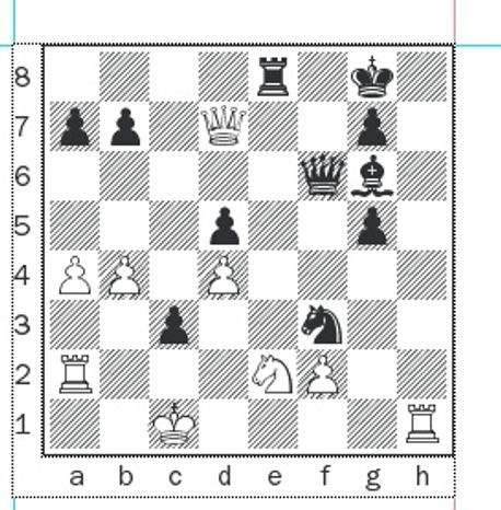 Giri-Aronian after 41. Ra2.