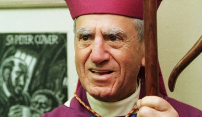 ** FILE ** Cardinal Anthony J. Bevilacqua, who led the Archdiocese of Philadelphia for more than 15 years, is pictured in 2000. (AP Photo/H. Rumph Jr.)