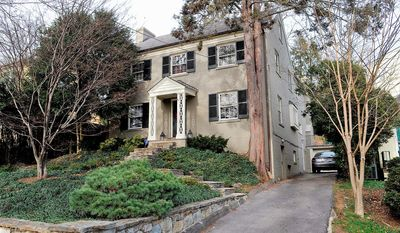 The home at 4433 Klingle St. NW in the District's Wesley Heights neighborhood is on the market for $1,650,000. The four-bedroom home was built in 1933 and a large two-story addition was built about 10 years ago.