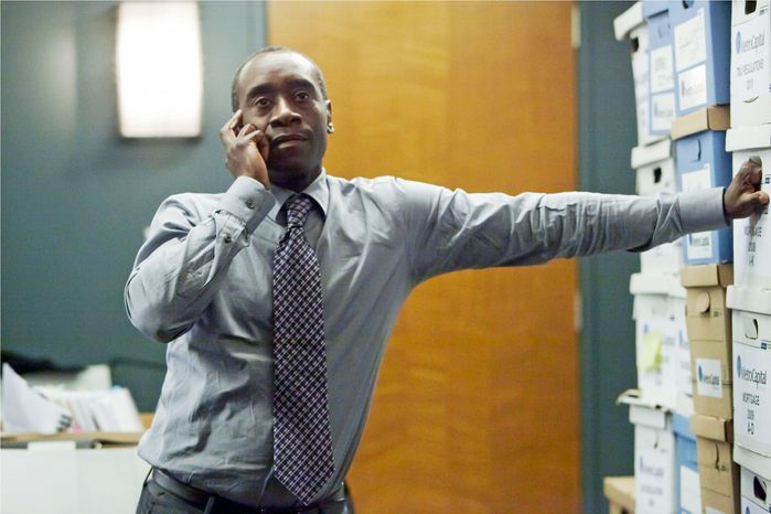 "Don Cheadle performance as Marty Kaan on Showtime's new hit ""House of Lies"" may just mark the beginning of the end of talented black actors being wasted in predictable roles. (Photo courtesy Showtime)"