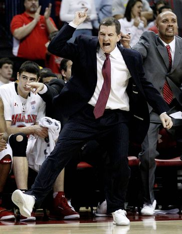 Maryland coach Mark Turgeon's ejection Wednesday included his first technical fouls since Feb. 19 when he was at Texas A&M. He became the first Maryland coach ejected since Gary Williams was tossed at Duke on Jan. 29, 1998. (Associated Press)