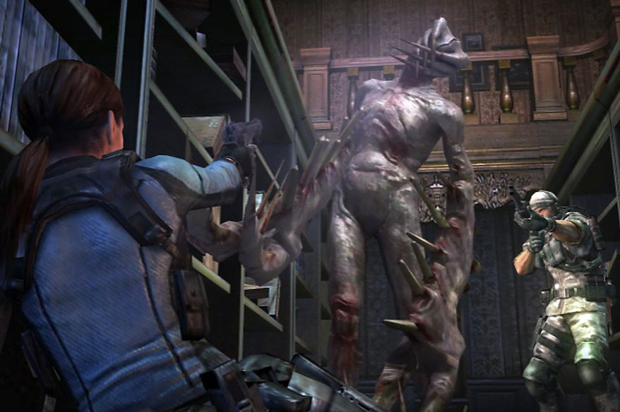 Jill Valentine has a bio-mutant problem in the Nintendo 3DS video game Resident Evil Revelations.